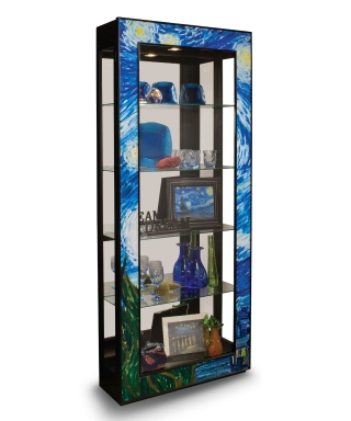 25593 STARRY NIGHT ACCENT CABINET