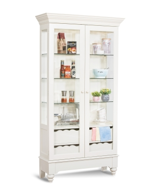 75058 SUMMERVILLE II DISPLAY CABINET