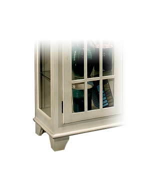 98658 BARLOW TWO DOOR DISPLAY CONSOLE