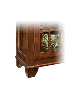 98662 BARLOW TWO DOOR DISPLAY CONSOLE