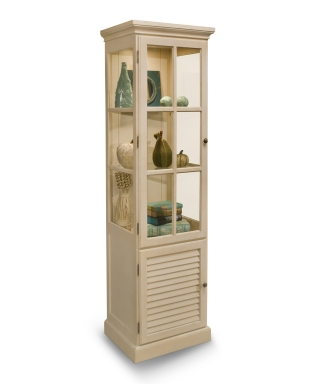 70158 HAMPTON DISPLAY CABINET