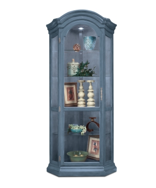 48965 PANORAMA CORNER DISPLAY CABINET