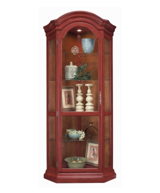 48954 PANORAMA CORNER DISPLAY CABINET