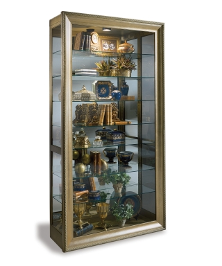 80579 VERMEER FINE ART PICTURE FRAME CURIO CABINET