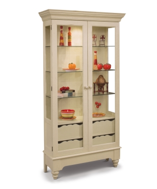 75058 SUMMERVILLE DISPLAY CABINET