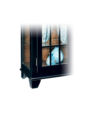 98657 BARLOW TWO DOOR DISPLAY CONSOLE